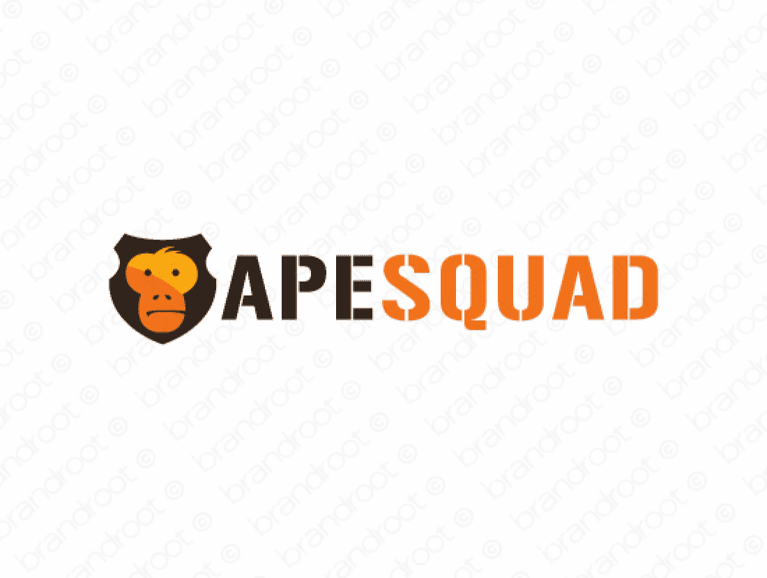 Brandable Domain Name - apesquad.com
