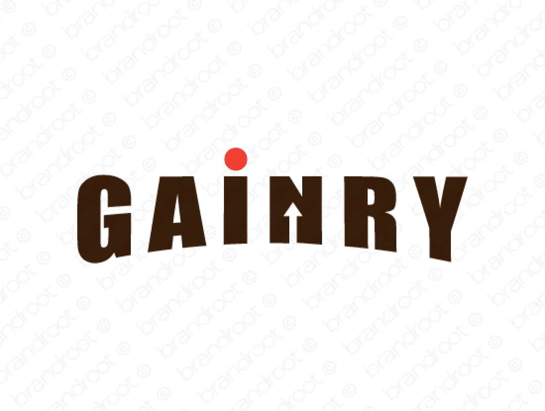 Brandable Domain Name - gainry.com