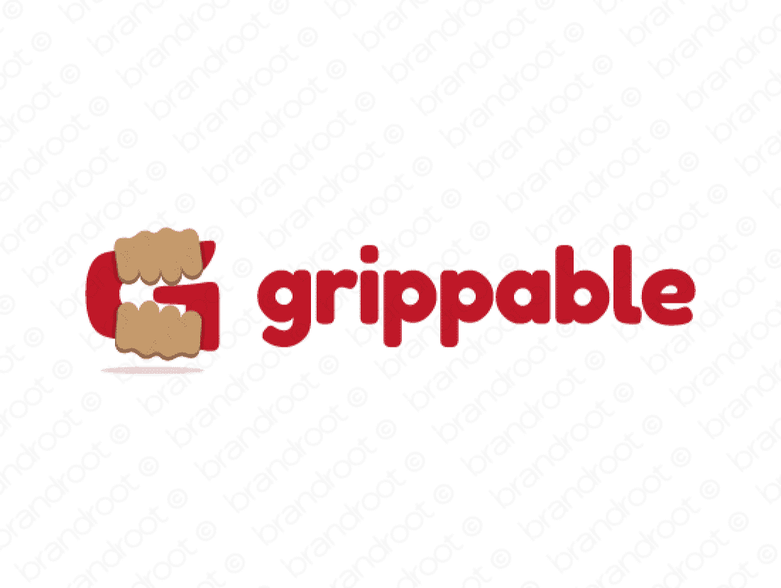 Brandable Domain Name - grippable.com