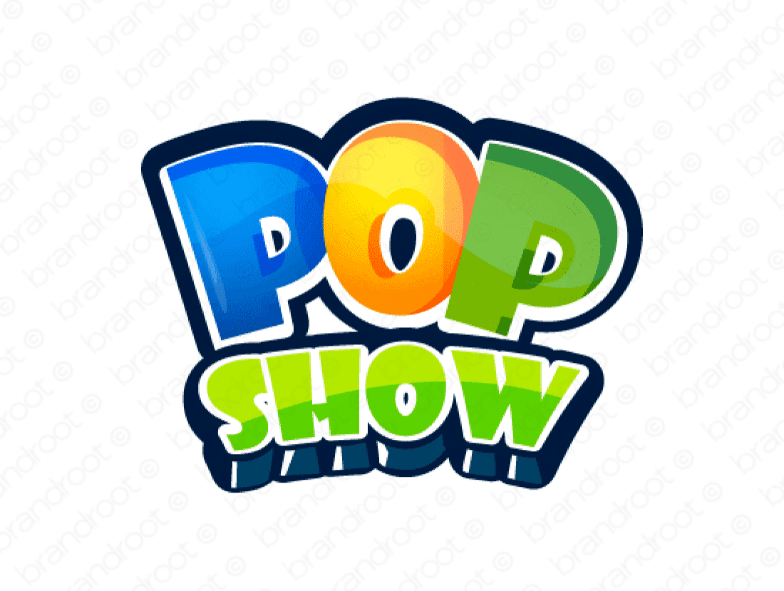 Brandable Domain Name - popshow.com