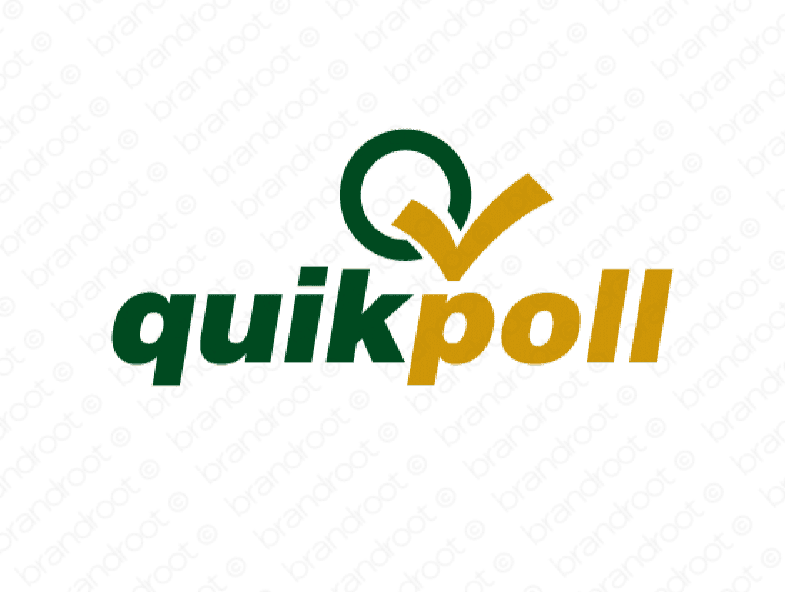 Brandable Domain Name - quikpoll.com