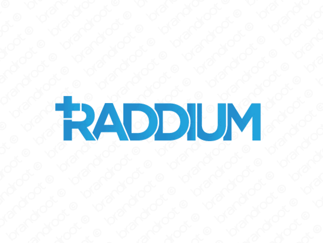 Brandable Domain Name - raddium.com