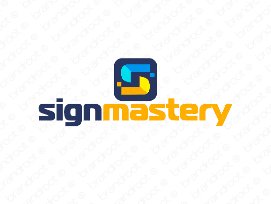 Brandable Domain Name - signmastery.com