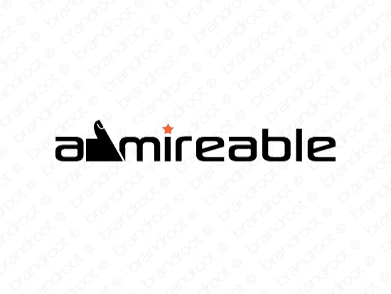 Brandable Domain Name - admireable.com