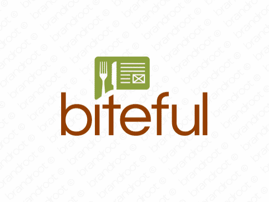 Brandable Domain Name - biteful.com
