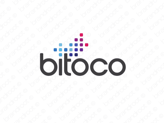 Brandable Domain Name - bitoco.com
