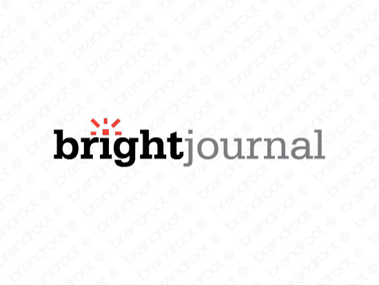 Brandable Domain Name - brightjournal.com