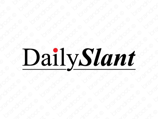 Brandable Domain Name - dailyslant.com
