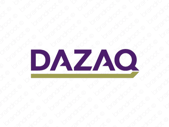 Brandable Domain Name - dazaq.com