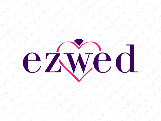 Brandable Domain Name - ezwed.com