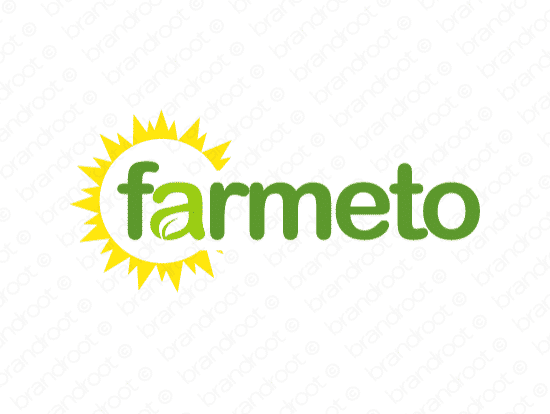 Brandable Domain Name - farmeto.com