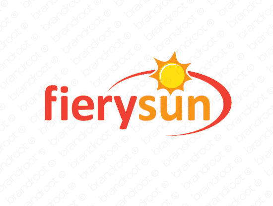 Brandable Domain Name - fierysun.com