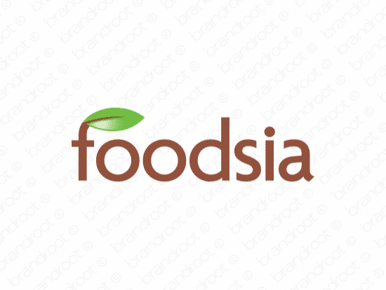 Brandable Domain Name - foodsia.com
