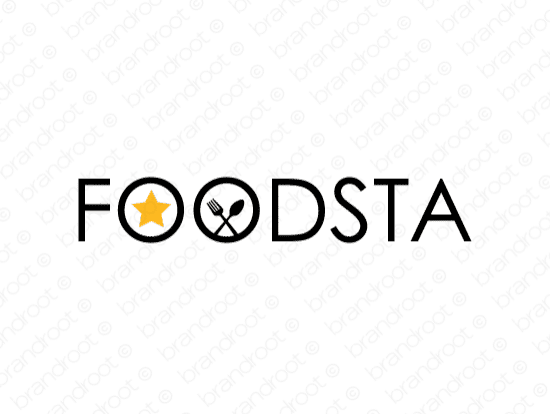 Brandable Domain Name - foodsta.com