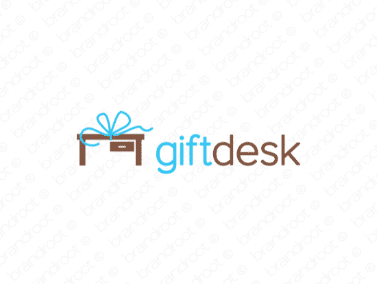 Brandable Domain Name - giftdesk.com