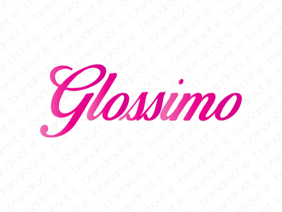 Brandable Domain Name - glossimo.com