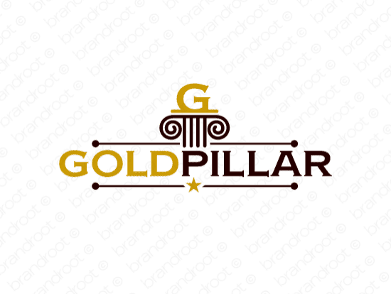 Brandable Domain Name - goldpillar.com