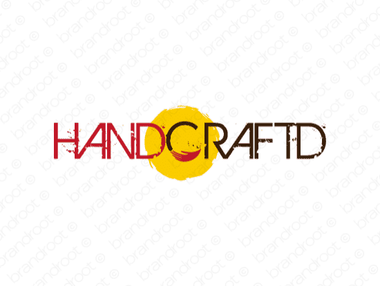 Brandable Domain Name - handcraftd.com