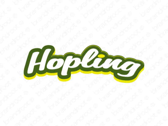 Brandable Domain Name - hopling.com