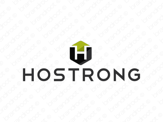 Brandable Domain Name - hostrong.com