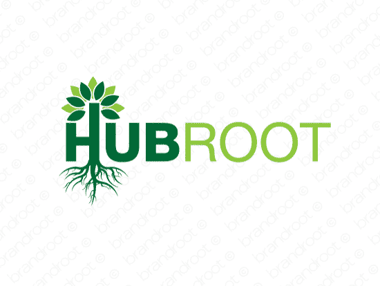 Brandable Domain Name - hubroot.com