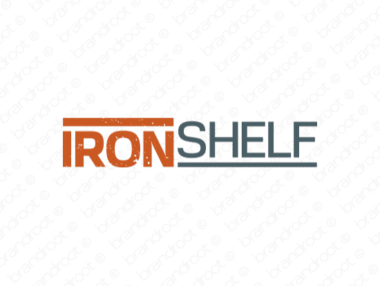 Brandable Domain Name - ironshelf.com