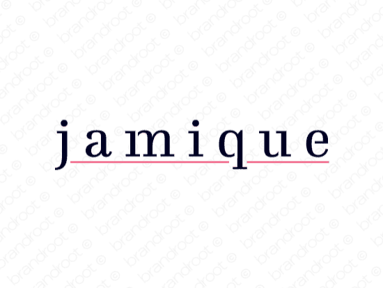 Brandable Domain Name - jamique.com