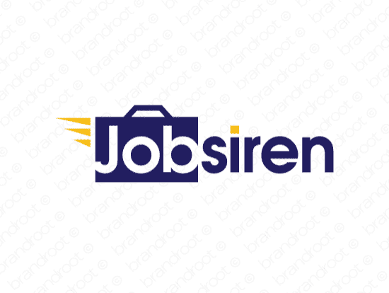 Brandable Domain Name - jobsiren.com