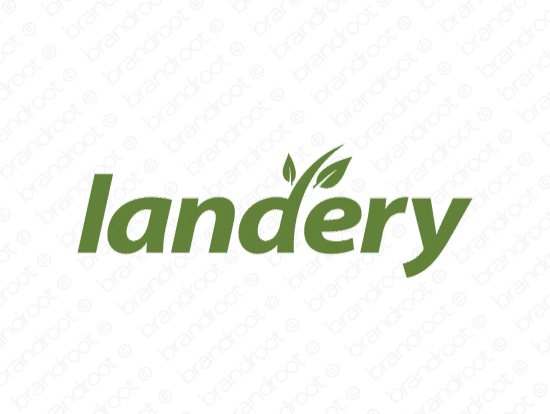 Brandable Domain Name - landery.com
