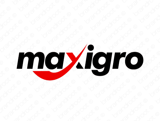 Brandable Domain Name - maxigro.com
