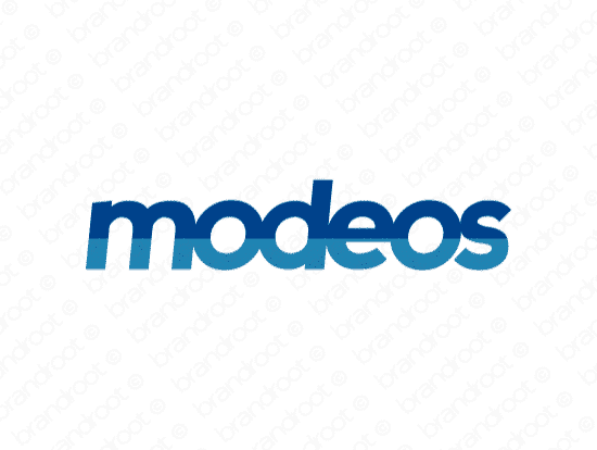 Brandable Domain Name - modeos.com