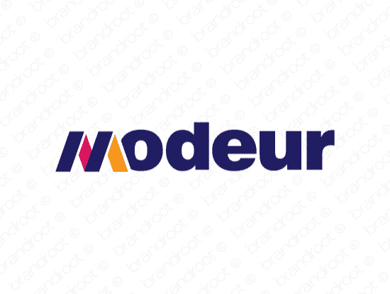 Brandable Domain Name - modeur.com
