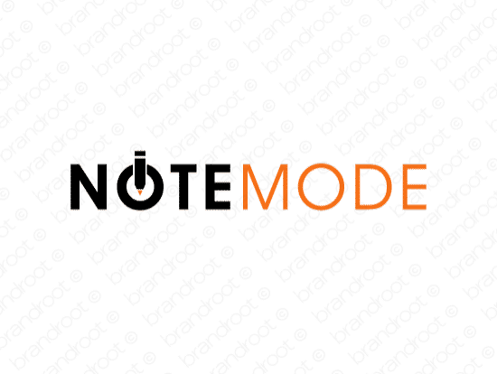 Brandable Domain Name - notemode.com