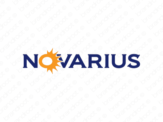 Brandable Domain Name - novarius.com