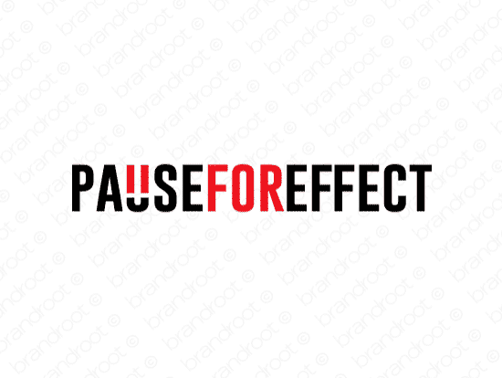 Brandable Domain Name - pauseforeffect.com