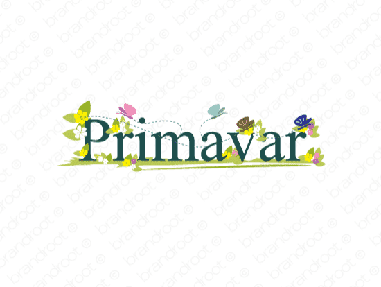 Brandable Domain Name - primavar.com