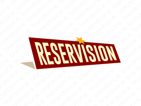 Brandable Domain Name - reservision.com