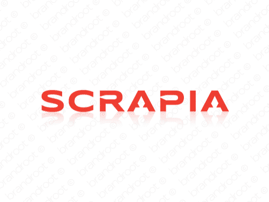 Brandable Domain Name - scrapia.com