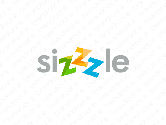 Brandable Domain Name - sizzzle.com