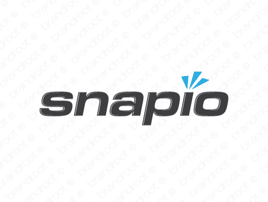 Brandable Domain Name - snapio.com