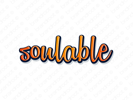 Brandable Domain Name - soulable.com