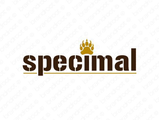 Brandable Domain Name - specimal.com