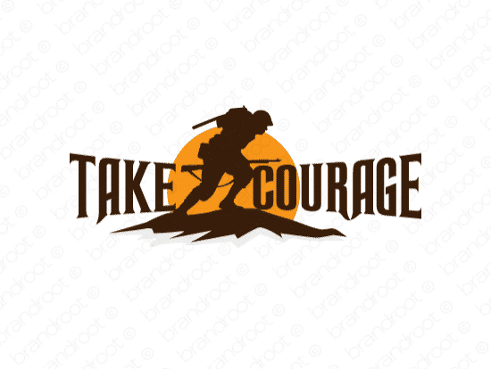 Brandable Domain Name - takecourage.com