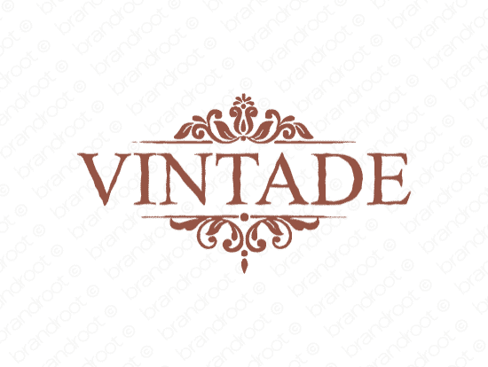 Brandable Domain Name - vintade.com
