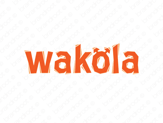 Brandable Domain Name - wakola.com