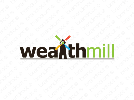 Brandable Domain Name - wealthmill.com