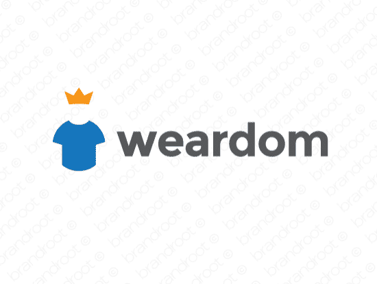 Brandable Domain Name - weardom.com