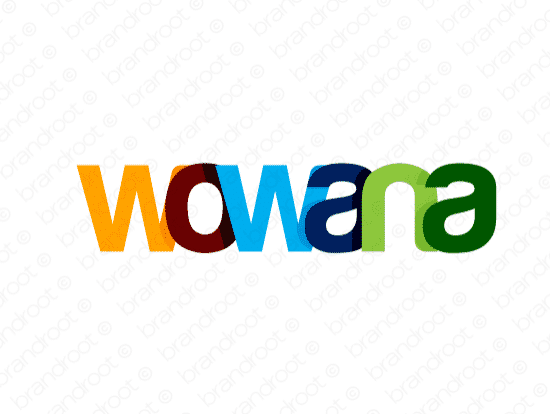 Brandable Domain Name - wowana.com