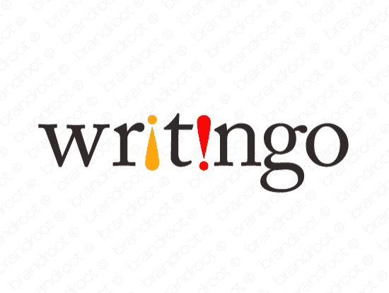 Brandable Domain Name - writingo.com