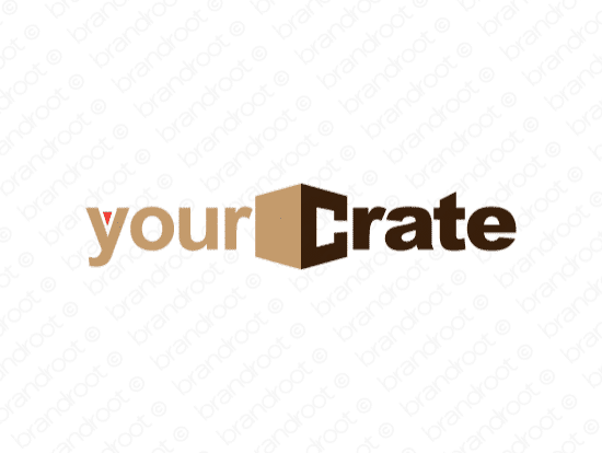 Brandable Domain Name - yourcrate.com